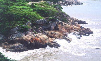 东临珠海的荷包岛